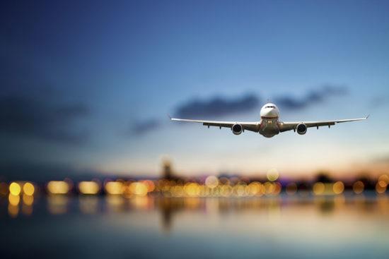 Anreise mit dem Flugzeug nach Radstadt, Salzburg