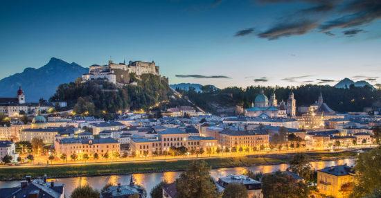 Tagesausflug in die Stadt Salzburg
