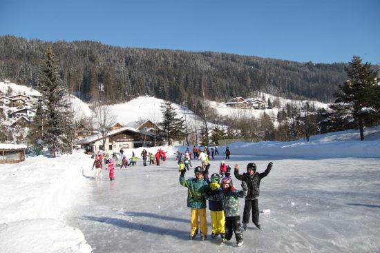 Eislaufen im Ski- & Winterurlaub in Radstadt, Salzburger Land