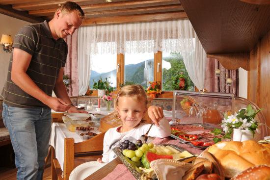 Frühstücksraum - Bauernhof Unterhagmooshof, Radstadt