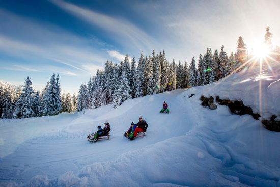 Rodeln im Ski- & Winterurlaub in Radstadt, Salzburger Land