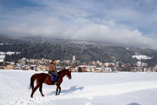 Winterreiten im Ski- & Winterurlaub in Radstadt, Salzburger Land